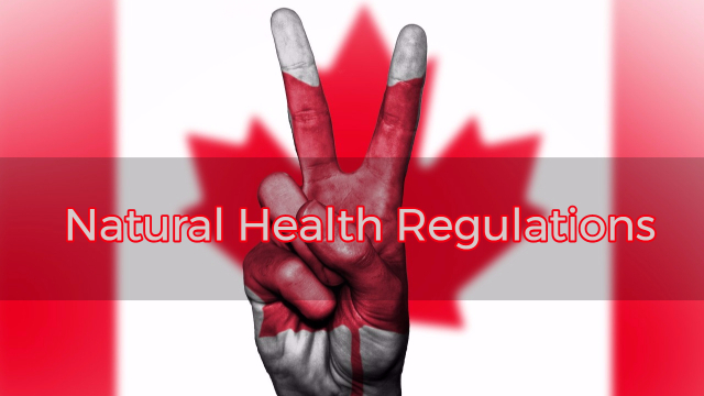 Canadian Natural Health Regulations